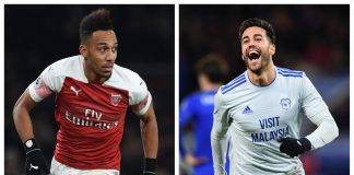 Ramalan Pertandingan Arsenal vs Cardiff 2018-19